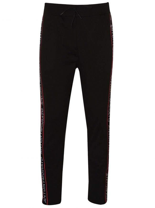 Black Tape Logo Jog Pants