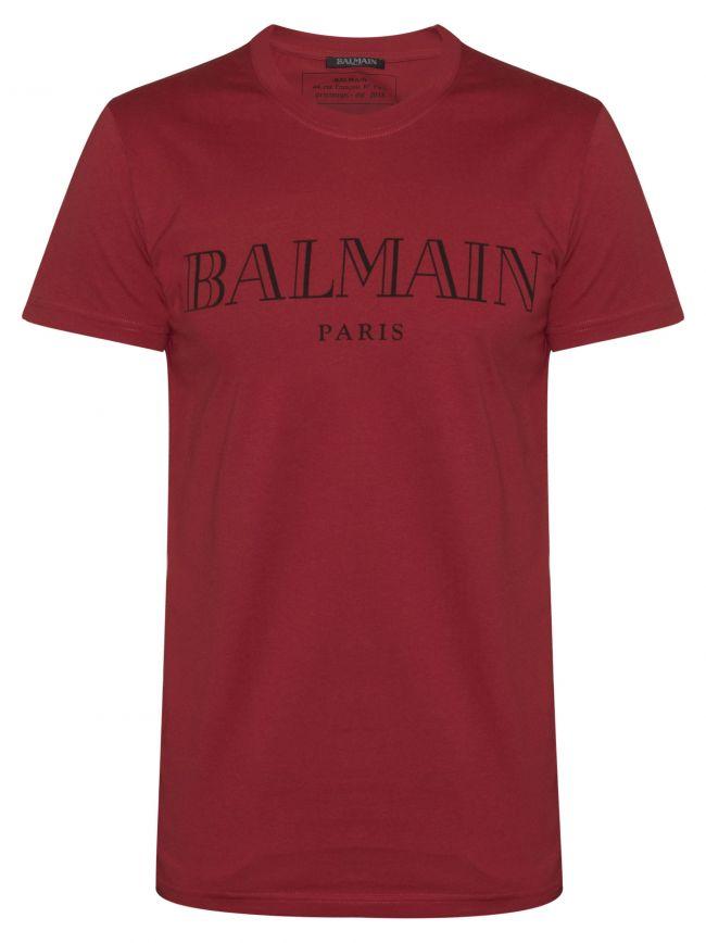 Red Logo Print T-Shirt