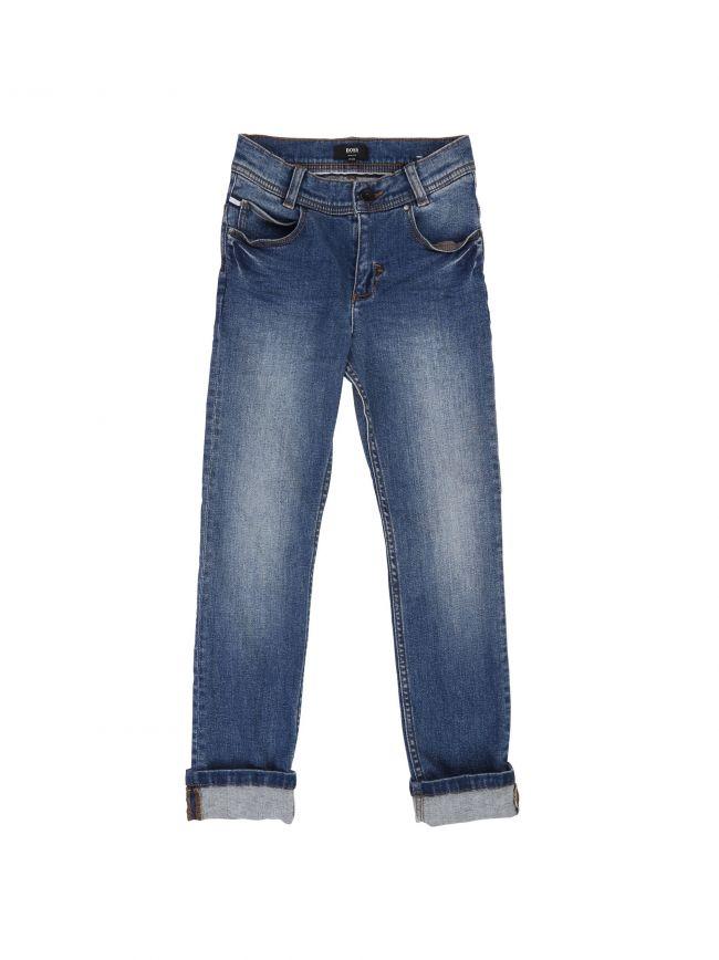 Light Wash Slim Fit Jean