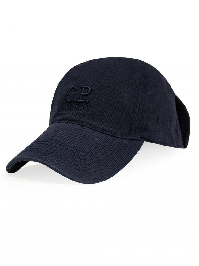 Navy Goggle Baseball Cap