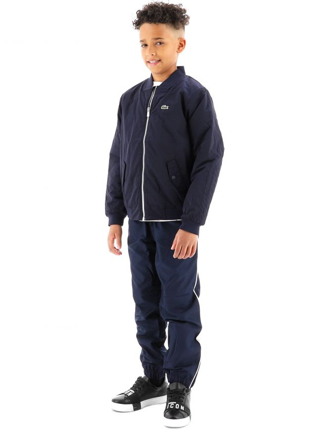 Lacoste Kids Navy Zip Jacket