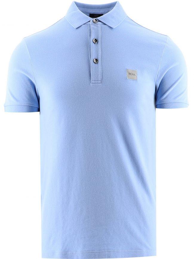 Light Blue Passenger Polo Shirt