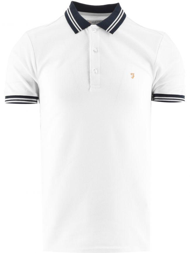 White Stanton Polo Shirt