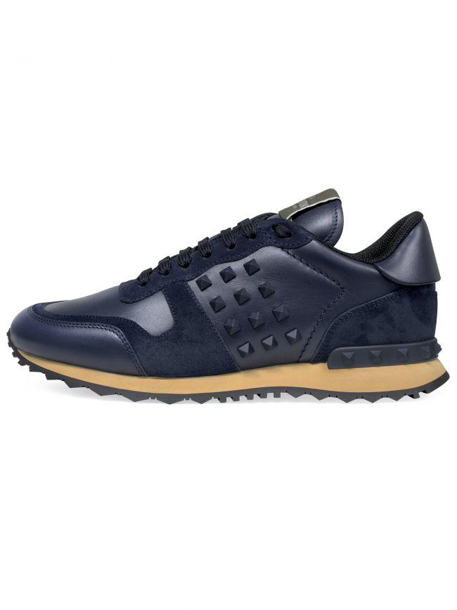 Navy Rockrunner Sneaker