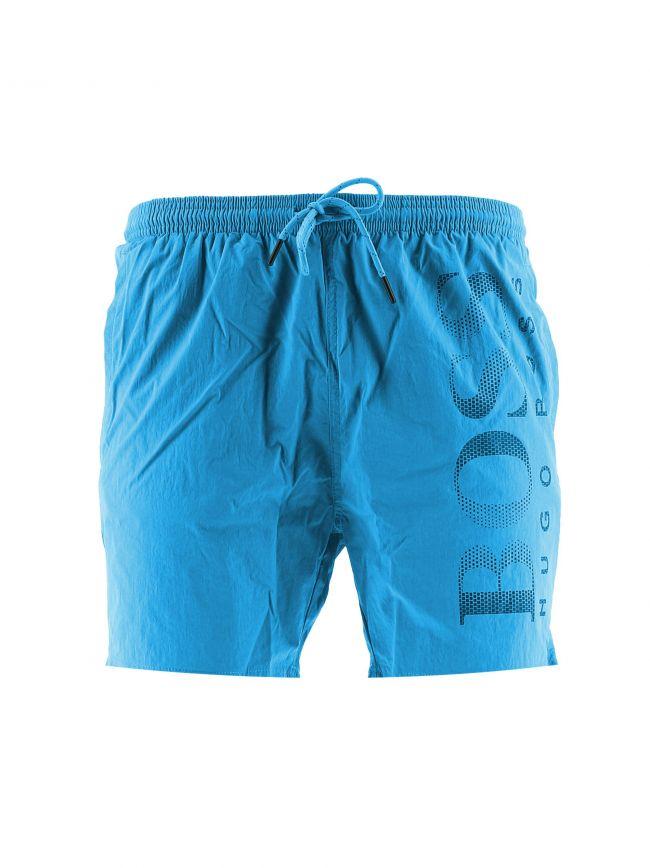 Bright Blue Octopus Swim Shorts