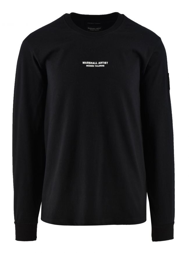 Black Long Sleeve Siren T-Shirt