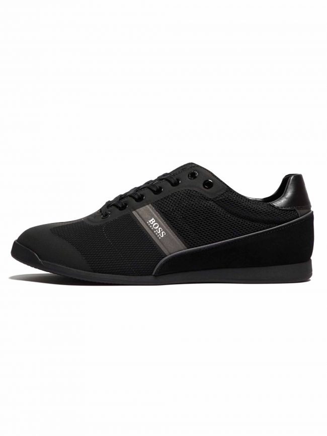 All Black Glaze Low Trainer
