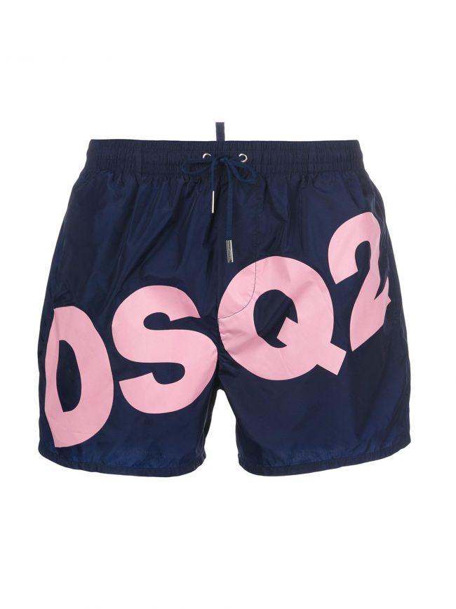 Navy Blue DSQ Short Swim Shorts