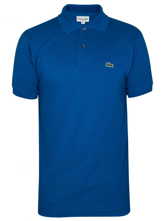 Classic Electric Blue Polo Shirt