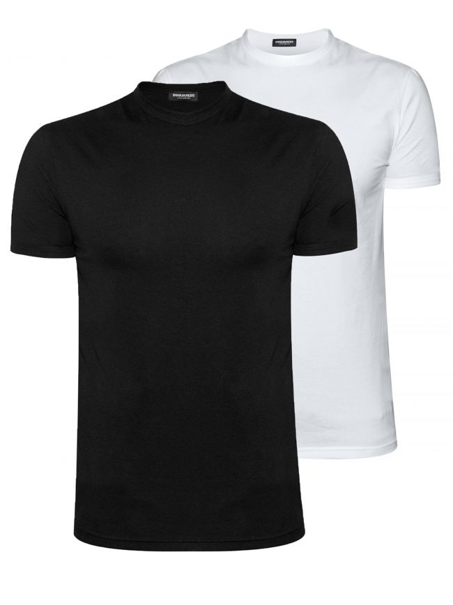 Black & White Twin Pack T-Shirt Set
