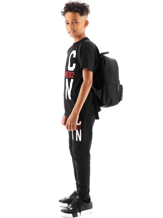 DSQUARED2 Kids Black ICON Bag