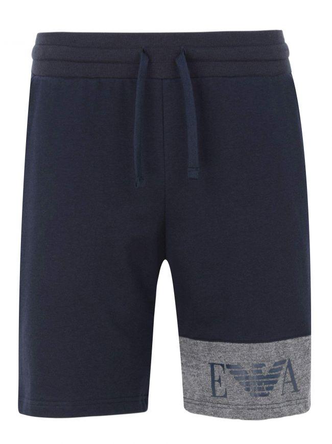 Navy & Grey Eagle Jersey Shorts