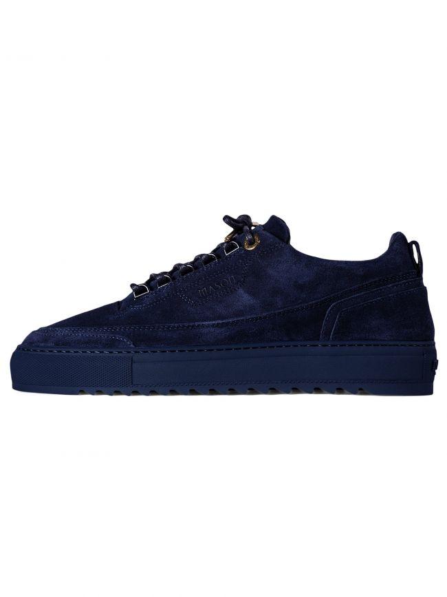 Navy Firenze Suede Sneaker