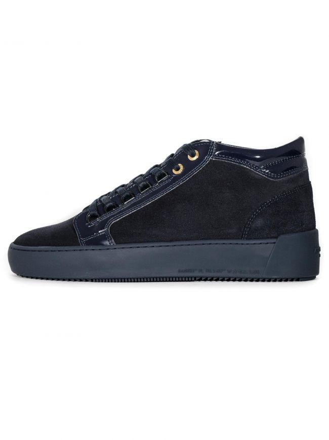 Navy Propulsion Mid Sneaker