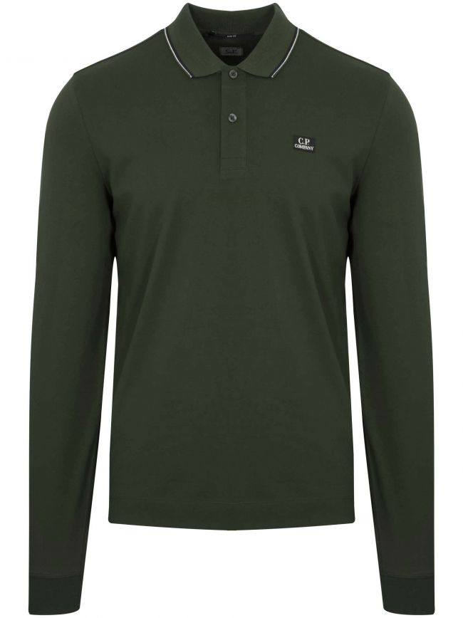 Khaki Green Slim Fit Polo