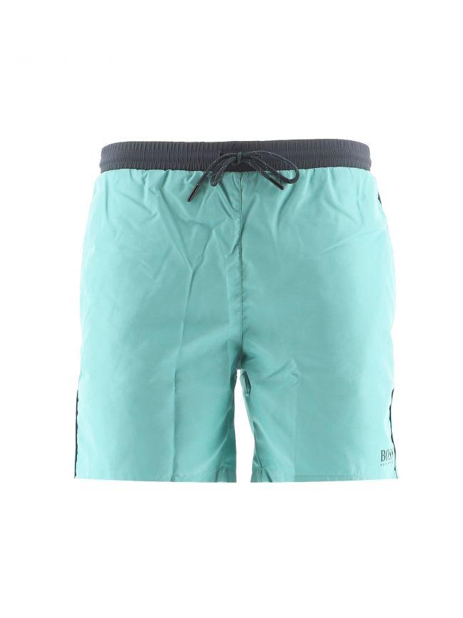 Green Starfish Swim Shorts