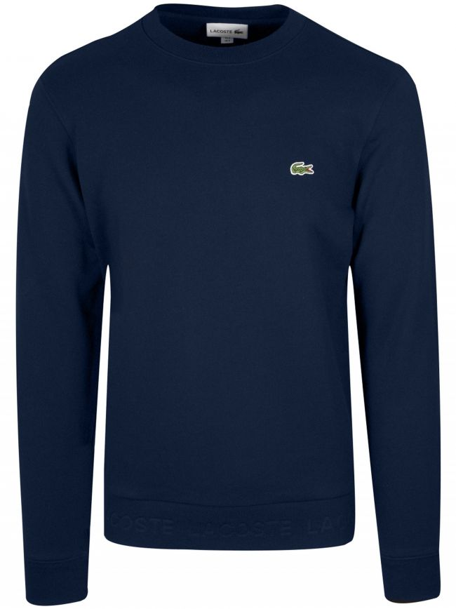 Navy Round Neck Sweatshirt