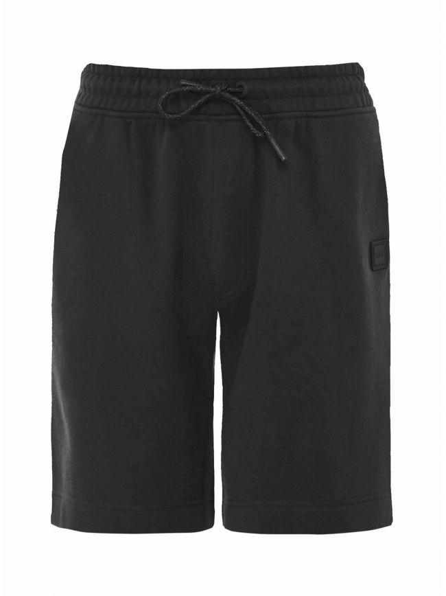 Black Skoleman Cotton Shorts