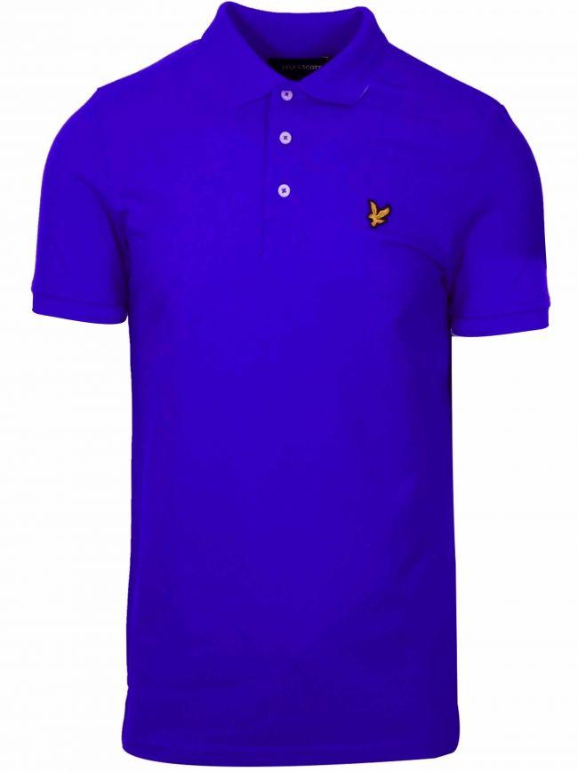 Cobalt Blue Polo Shirt