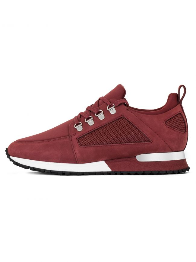 Burgandy Hiker Sneaker