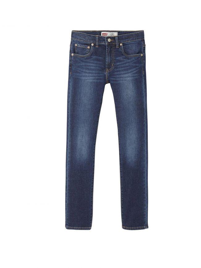 510 Skinny Fit Blue Denim Jean