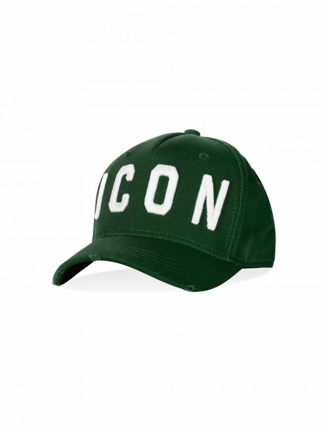 Forest Green & White ICON Embroidered Cap