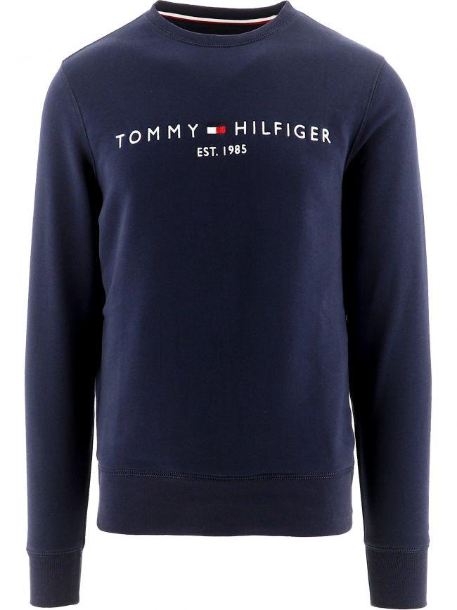 Navy Flex Logo Sweatshirt