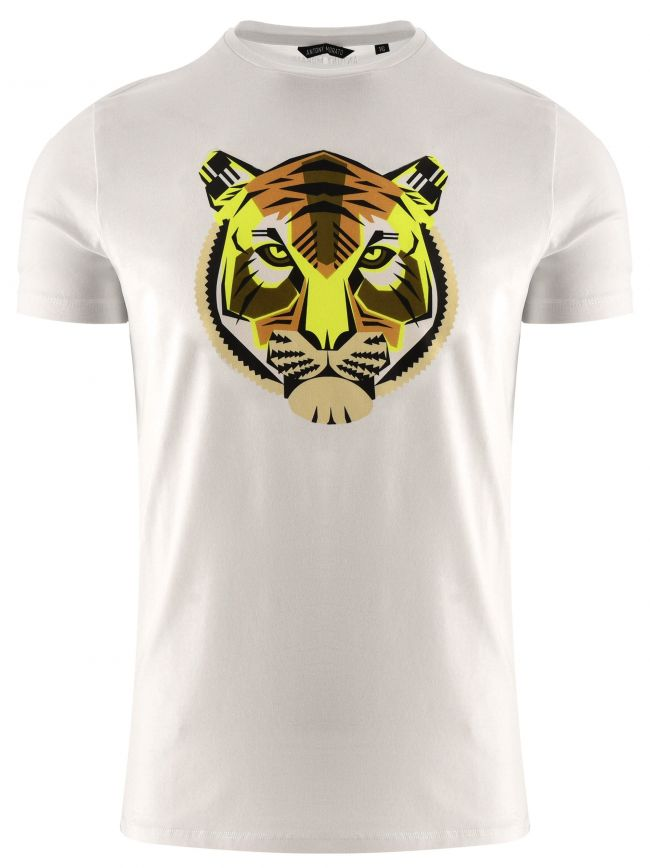 Antony Morato Kids White Short Sleeve Safari T-Shirt