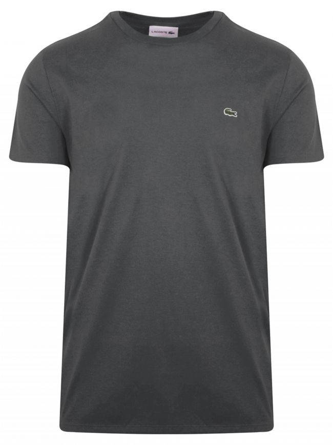 Charcoal Grey Round Neck T-Shirt