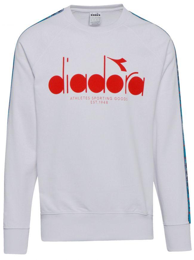 White Logo Offside Sweatshirt