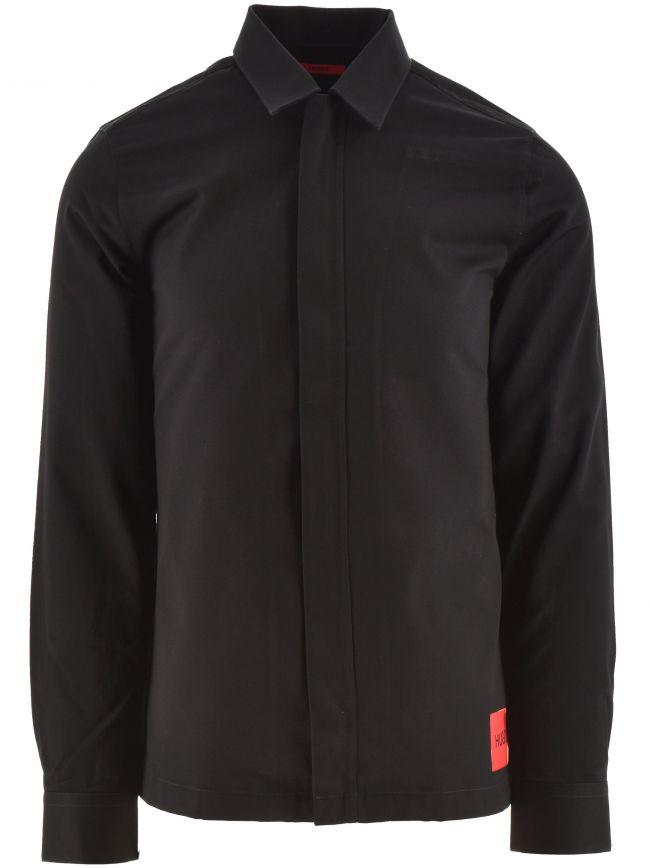 Black Epino Casual Shirt