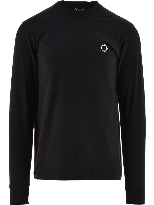 Black Long Sleeve Icon T-Shirt