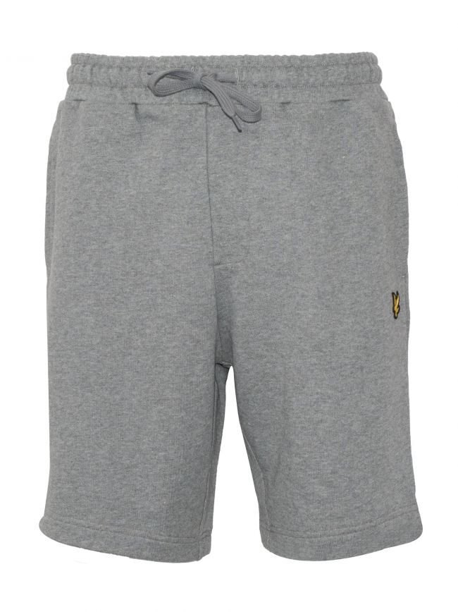 Grey Jersey Cotton Shorts