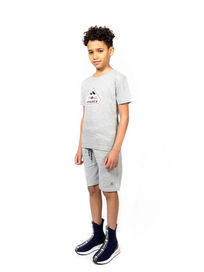 Pyrenex Kids Grey Karel T-Shirt