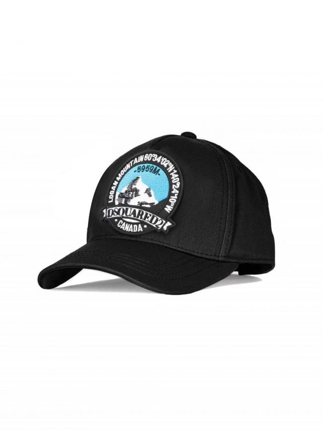 Black Mountain Patch Embroidered Cap