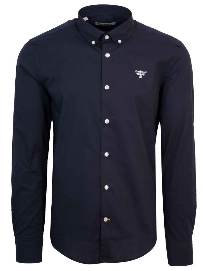 Navy Long Sleeve Seathwaite Shirt