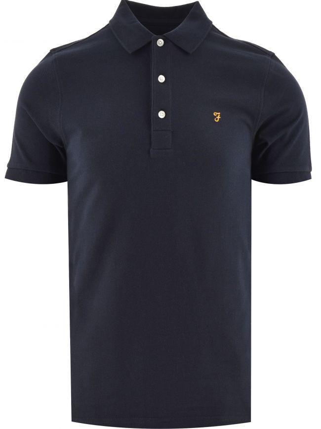 Navy Blanes Polo Shirt