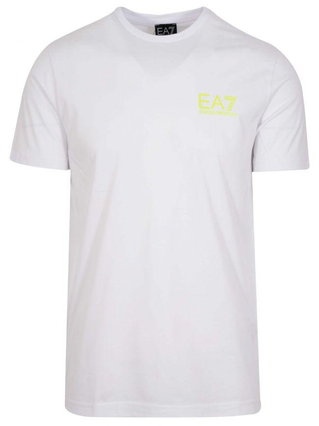 White Reverse Logo T-Shirt
