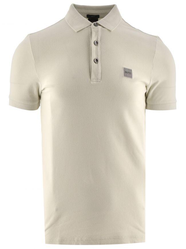 Cream Passenger Polo Shirt