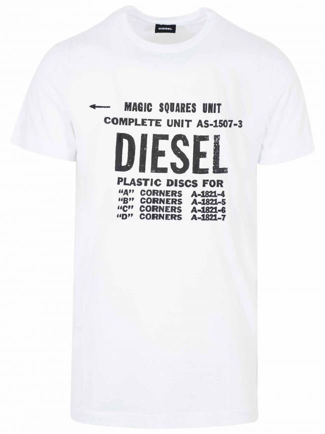 White New Diego Logo T-Shirt