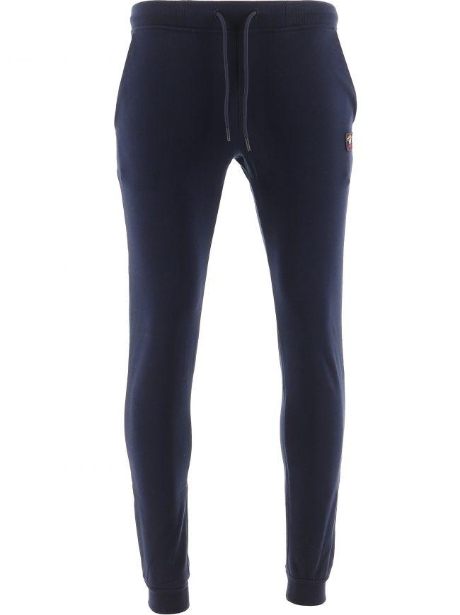 Blue Banded Cuff Fleece Sweatpants