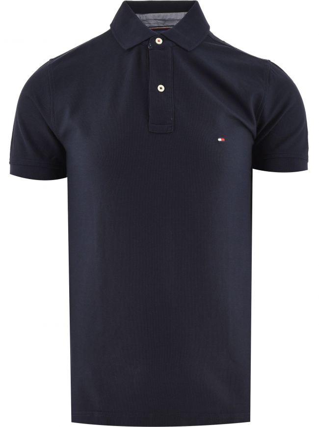 Navy Core Hilfiger Regular Fit Polo Shirt