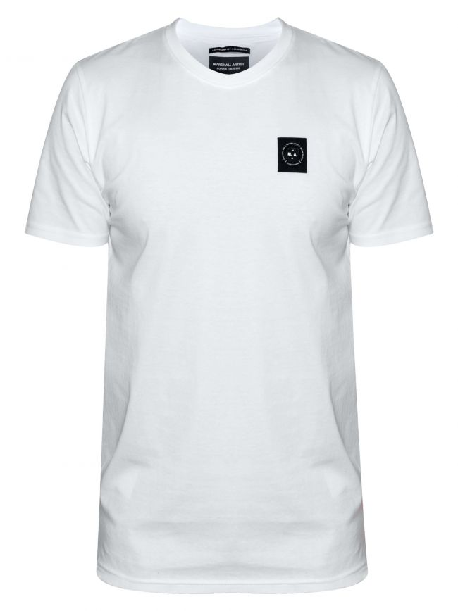 White Short Sleeve Siren T-Shirt