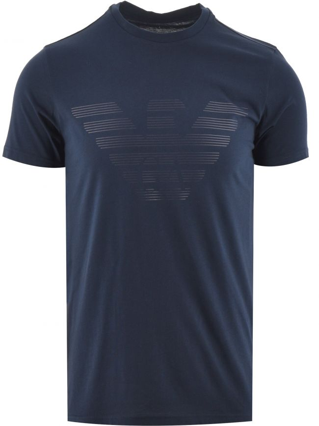 Navy Logo T Shirt