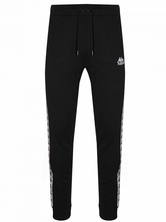 Black Banda Cotton Track Pant