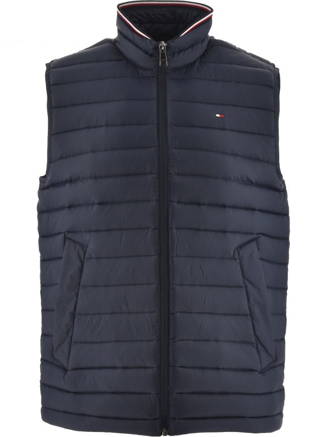 Navy Core Packable Down Gilet