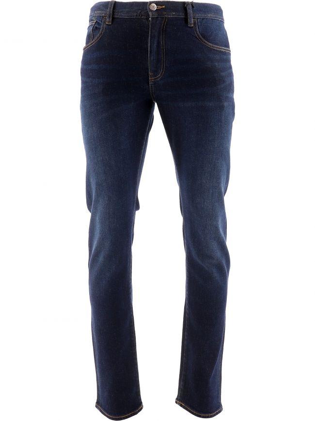 Blue Five Pocket Slim Fit Jean