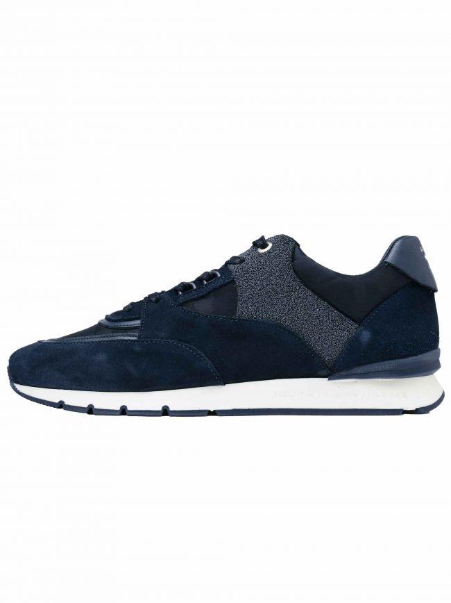Dark Azure Caviar Camo Belter 2.0 Sneaker