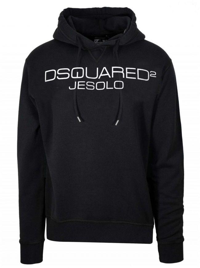 Black Jesolo Hooded Sweatshirt
