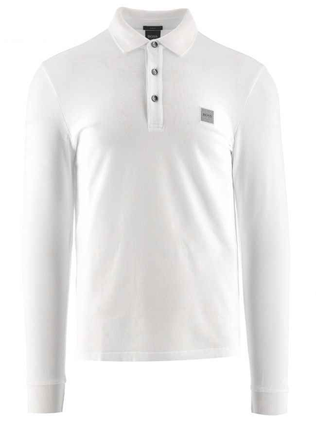 White Passerby Polo Shirt